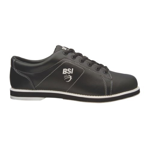Bowlers Superior Inventory BSI Mens Classic Bowling Shoes (9 1/2 M US, Black)
