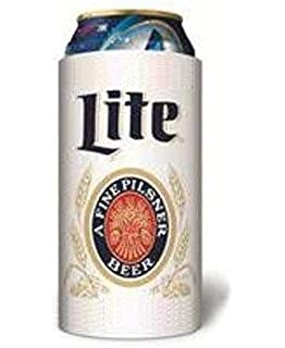 Miller Lite Throwback Vintage Beer Can Cooler 16 Oz