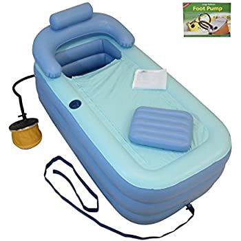 Amazon Com Inflatable Bath Tub Adult Bathtub Upgraded