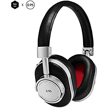 4565fc3913d Master & Dynamic MW60 Wireless Premium Leather Over-Ear Headphones with  Extended Bluetooth 4.1 Range & 45mm Neodymium Driver