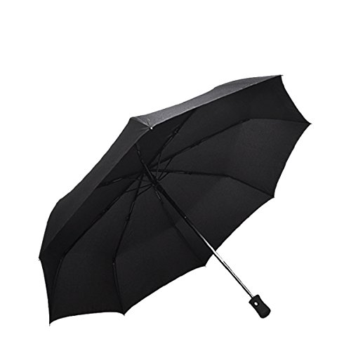 Compact Travel Umbrella - Windproof,Reinforced Canopy,Auto Open/Close by KaKa Shaw (Image #6)