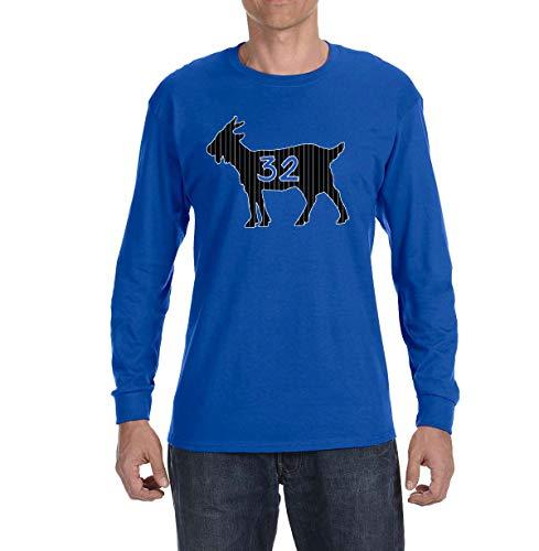 (Peg Leg Shirts BLUE Orlando O'neal Goat Long Sleeve Shirt YOUTH MEDIUM)