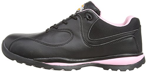 Dickies Ohio Scarpe antinfortunistica donna, color Nero (Black/Pink), talla 40 EU