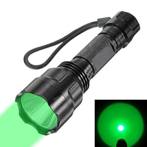 WINDFIRE wf-c8300Lumen grün und rot und blau Tactical Taschenlampe 150Yard grün und rot und blau LED Coyote Hog Jagd Tactical Lampe Taschenlampe für Jagd Angeln (grün)