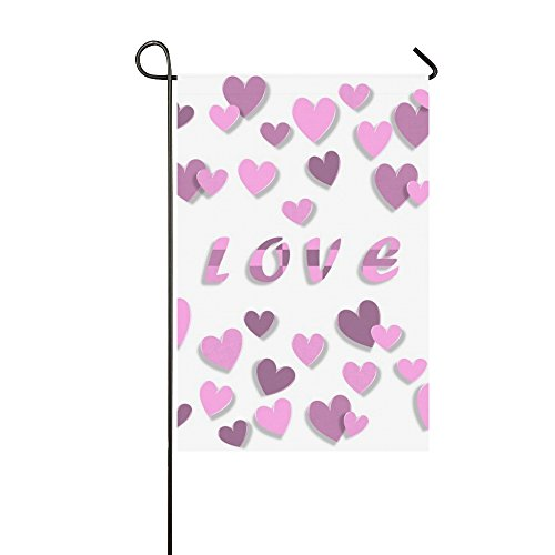 Home Decorative Outdoor Double Sided Love Valentine S Day 3d