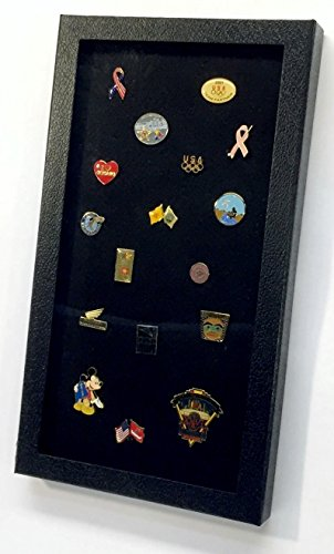 Pin Collector's Display Case by Hobbymaster -- for Disney, Hard Rock, Olympic & other collectible pins and medals, holds up to 100 pins
