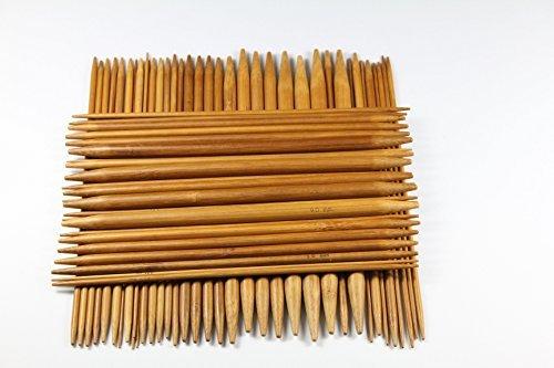 Bamboo double pointed knitting needle set