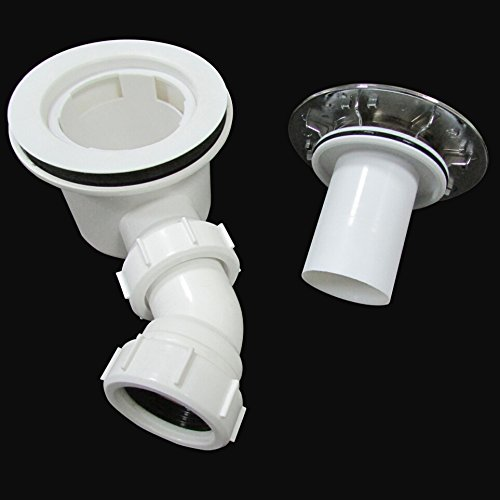 90mm High Fast flow Shower Enclosure Waste Trap For Tray Perfect