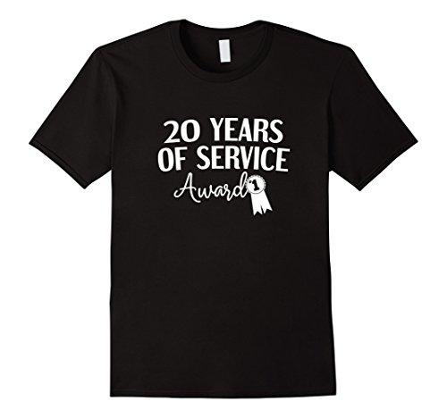 20 Years of Service Award T Shirt