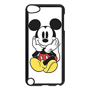 Super iPod Touch 5 Case, Cute Cartoon Mickey Mouse Hard Snap-On Plastic Cover Skin Case for New iPod Touch 5th Generation