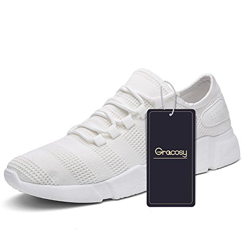 Gracosy Sports Zapatos Fashion for Hombre and Mujer, Fashion Zapatos Breathable Sneakers 57ea25