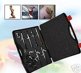 Profi Airbrush Pistolen Set Ohne Kompressor 6 Pistolen Ap1 Amazon
