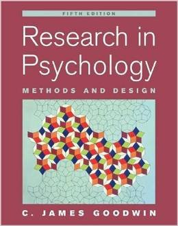 Download Research In Psychology Methods and Design - 5th edition pdf