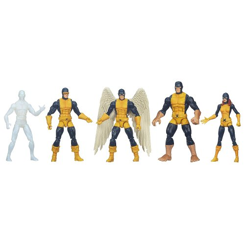 Marvel Legends Exclusive All New X-Men Set [Cyclops, Angel, Marvel Girl, Iceman & Beast] (Marvel Legends All New X Men Set)