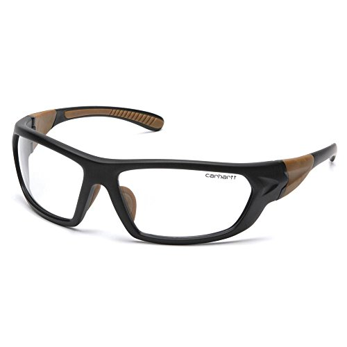 Carhartt Gear CHB210D Carbondale - Clear Lens with Black/Tan Frame 1