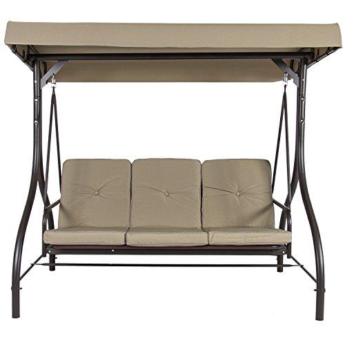 Belleze© Converting Outdoor Swing Canopy Hammock Seats