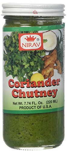 Nirav Coriander Chutney(7.74Oz)