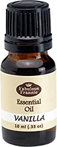 Vanilla Essential Oil - 10ml Great scent for the spa and home by Fabulous Frannie