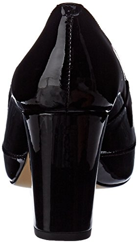 Unisa Damen Numar_18_PA Pumps Schwarz (Black)