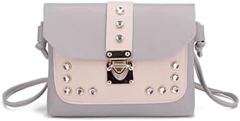 37b8713866 BCDshop Women Rhinestone Shoulder Bag Purse Fashion Lady Samll Messenger  Satchel Tote Crossbody Bags
