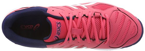 Asics Women's Gel-Beyond 5 Volleyball Shoes, Pink Red (Rouge Red/White/Indigo Blue 1901)
