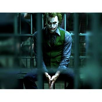 Amazon.com: D3314 Heath Ledger Joker Batman Dark Knight