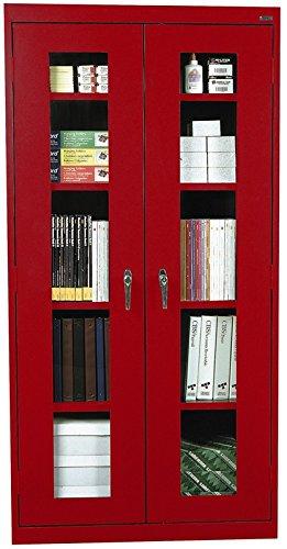 (Sandusky Lee EA4V362478-01 Elite Series Clear View Storage Cabinet, 24