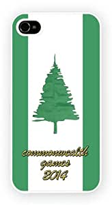 Norfolk Islands Commonwealth Games 2014 Cell Phone Funda Para Móvil Case Cover for iPhone 5 / 5s