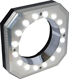 Polaroid PL-MRL16 Digital Macro 16 LED Ring Light for Canon EOS, Nikon, Sony Alpha, Olympus and Pentax Digital SLR Cameras