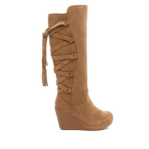 Bearpaw Damen Britney Wedge Boot Hickory Ii