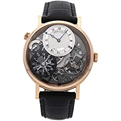 Breguet Tradition Mechanical (Hand-Winding) Skeletonized Dial Mens Watch 7067BR/G1/9W6 (Certified Pre-Owned)