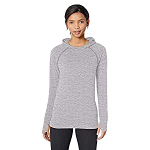 Amazon Essentials Women's Brushed Tech Stretch Popover Hoodie 17