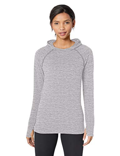 Amazon Essentials Women's Brushed Tech Stretch Popover Hoodie