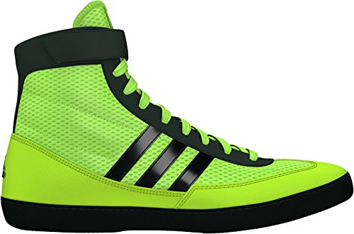 adidas Combat Speed 4 Wrestling Shoes - Soilar Yellow/Black - 4.5