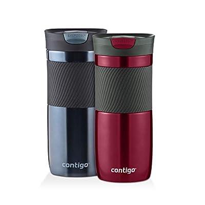 Contigo Byron Snapseal Travel Mug, 16 oz-2 Pack