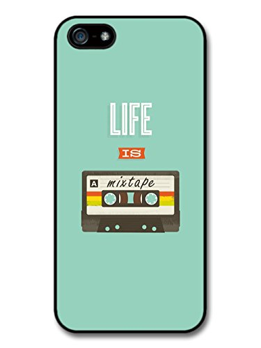 Cool Life is a Mixtape Cassette Inspirational Music Design case for iPhone 5 5S