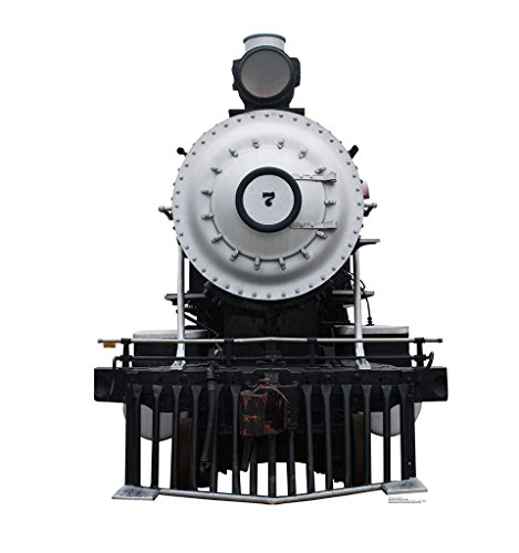 (Steam Locomotive #7 - Advanced Graphics Life Size Cardboard Standup)