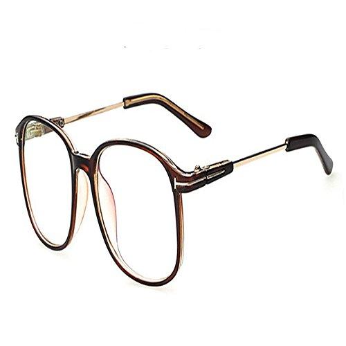 Vintage Retro Round Glasses Frame For Women Nerd Eyeglasses Frames Men Clear Fake Glasses Eyewear Oculos Optical Frame - Glasse Prescription