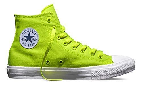 (Converse Chuck Taylor All Star II Hi Fabric Volt Green 150157C (12 M US))