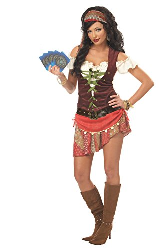 California Costumes Women's Mystic Gypsy Costume,Multi,X-Large