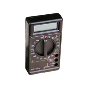 60.105 Multimetro Digital Mini Negro
