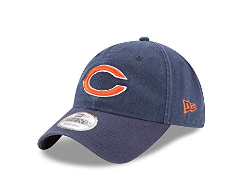 New Era Men's Chicago Bears 9TWENTY Core Navy One Size Fits All