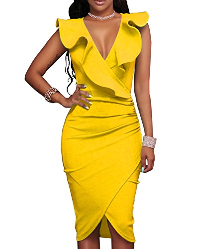 Tempt Womens Sleeveless Cocktail Bodycon