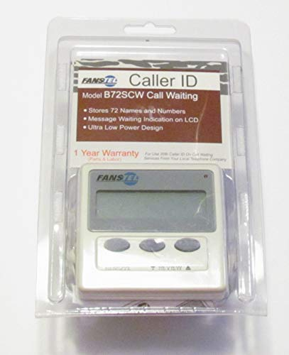 Fanstel Caller Id with Call Waiting B72SCW