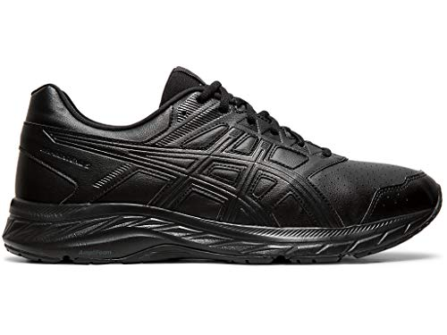 ASICS Men's Gel-Contend 5 SL Running, 11XW, Black/Graphite Grey 2020