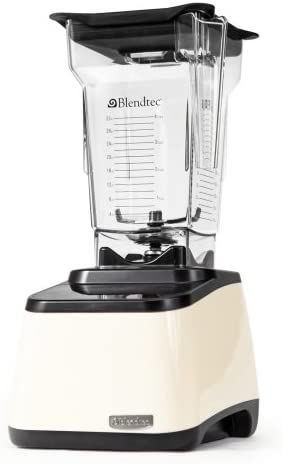 Blendtec Designer Series Blender, FourSide Jar - Cream