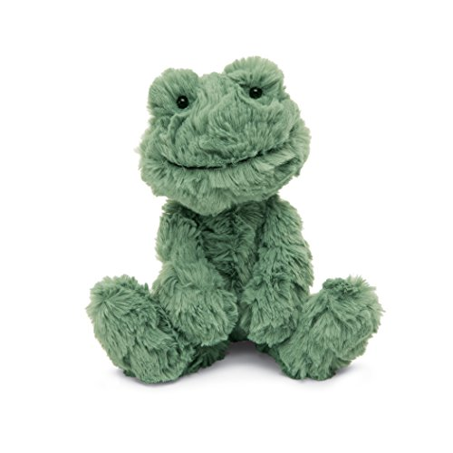 Jellycat Squiggle Frog Stuffed Animal, Small, 9 inches ()