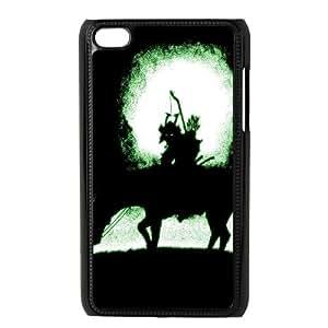 iPod Touch 4 Case Black DARK RIDER Yljeu