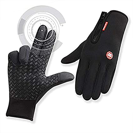 Full Finger Bike Cycling Gloves Thermal Windproof Waterproof Glove Men Women