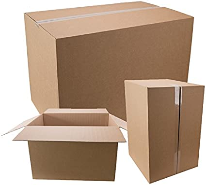 10 x Cartón aprox. 600 x 400 x 400 mm/Cajas de Cartón 60 x 40 x 40 ...